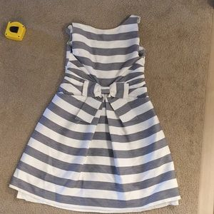 Kate spade dress.  Sless Stripe bow front